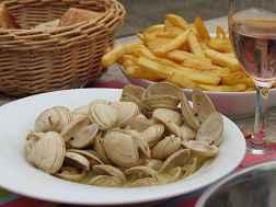 Excursion île d'yeu: pause déjeuner, les vénus