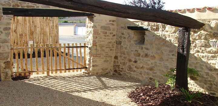 Location vacances et séjour en gîte Vendée, le patio