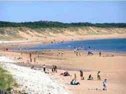 Tourisme Vendée à Longeville sur Mer et Angles, les plages