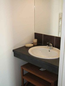 france holiday accommodation self catering Africa sink