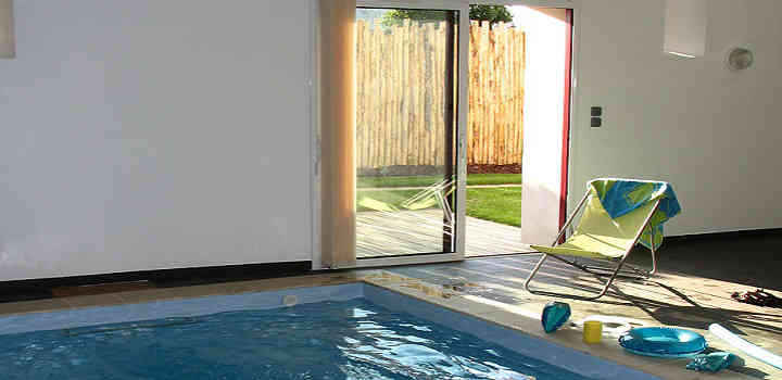Holiday cottages private indoor pool