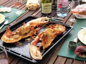 Bon week end en gîte Vendée avec du homard grillé au four