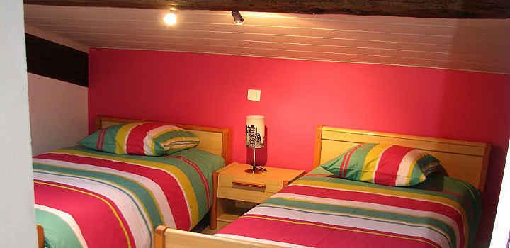 Location vacances 3 chambres en Vendée, chambre Amérique
