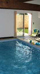 Partir en week end en amoureux en Vendée en gîte piscine intérieure