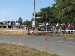 Rallye automobile Côte de lumière: les spectateurs