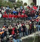 Vendée Globe Les Sables d'Olonne, Grand prix du sport et des milliers de spectateurs