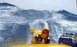 Vendée Globe: la mer agitée pendant la course